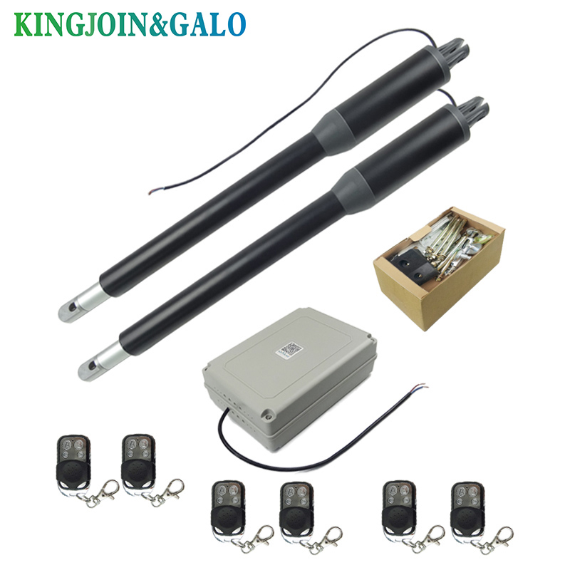 Image 3 - Free shipping Water proof Automatic Swing gate opener C05 Electric Linear Actuator Double arms swing gate motor kit-in Access Control Kits from Security & Protection