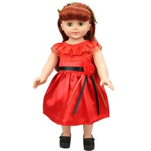 5 Color Doll Clothes Accessories American Girl Doll Dress