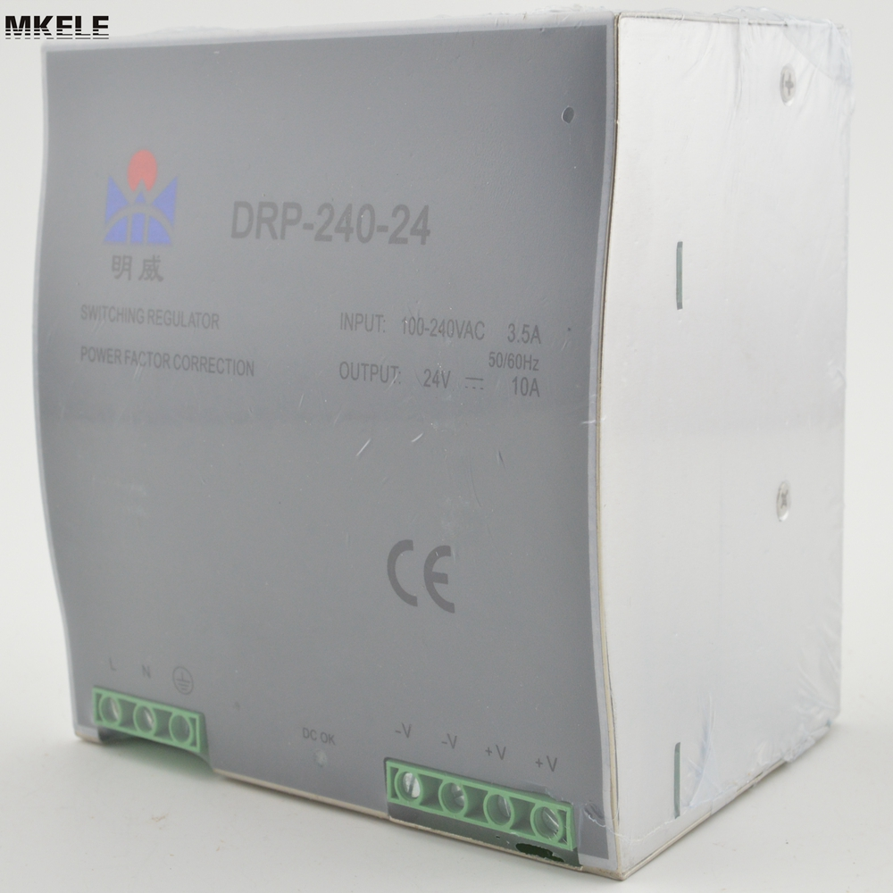 Cooling Aluminum Shell Switching Power Source Supply DR-240-48 Din Rail With CE Wide Range Input China high quality small size mini power supply ms 35 48 35w 48v 0 73a switching power supply with wide ac input range with ce