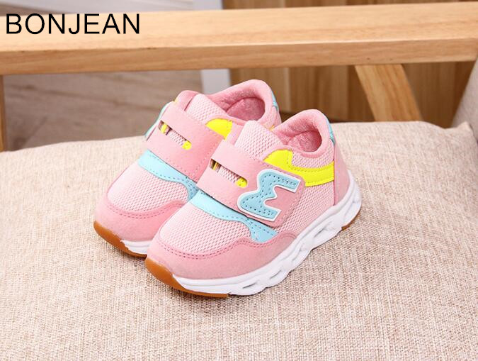 free shipping boy and girl's shoes 2018 children's shoes multi-color Breathable net shoes tqe36 free shipping candy color women garden shoes breathable women beach shoes hsa21