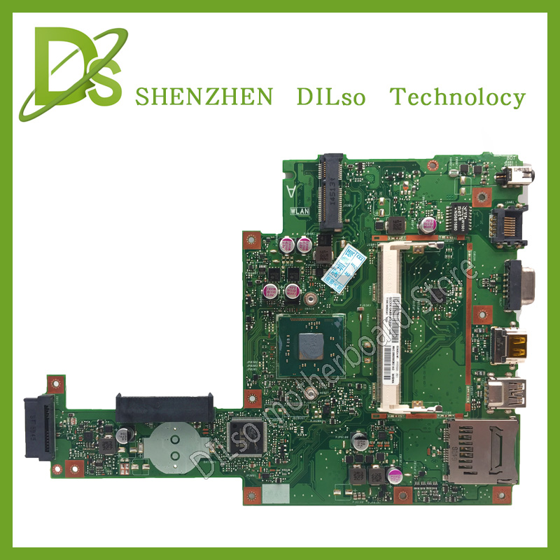 KEFU X453MA motherboard For ASUS X453MA Laptop motherboard X453MA mainboard REV2.0 Integrated 100% tested motherboard for asus x55u integrated amd laptop motherboard mainboard 100