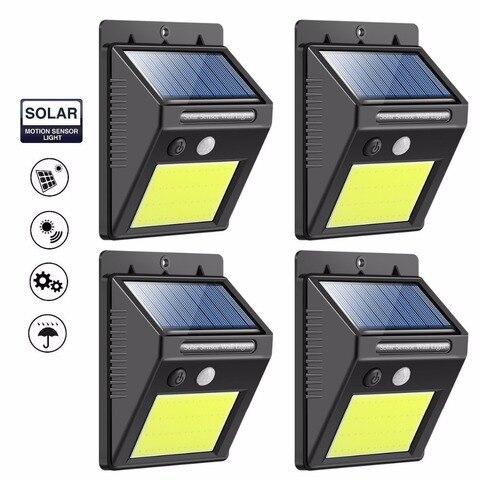 diodo emissor de luz solar luzes sensor de movimento super bright 48 a prova d