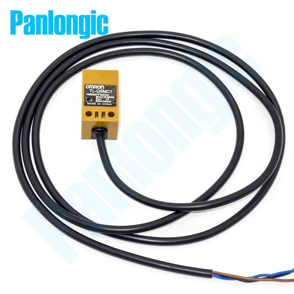 TL-Q5MC1 DC 10-36V 50mA NPN Inductive Proximity Switch Sensor 5mm Dection Normally Open NO 12V 24V  dhl ems 5 lots new omron inductive proximity switch sensor npn e2e x1c2 e2ex1c2