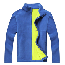 JEASS Men Thick Fleece Men  Pizex Windproof Outdoor Sport Softshell Sweatshirts Women Shoft Warm