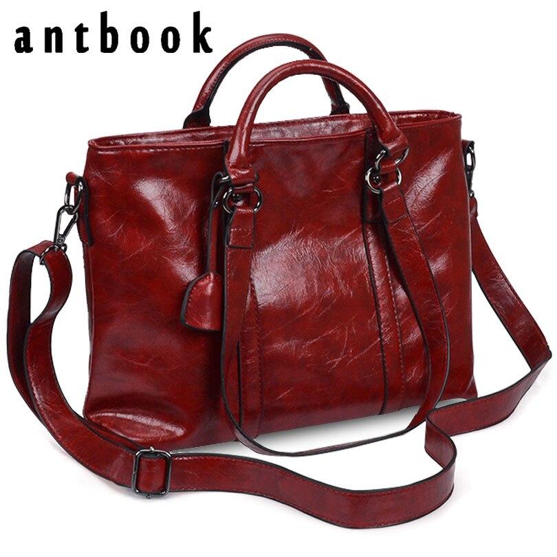 ANTBOOK 2017 New Luxury Handbags Women Bags Designer High Quality Pu Leather Shoulder Bag Crossbody Bag For Women Messenger Bags