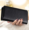 Women Genuine Leather Wallets Long Zipper Purses Female Card Holder Clutch Wallets Fashion Designer High Quality Carteras Mujer