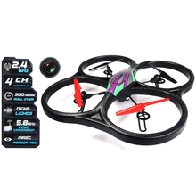 New RC Drones Copter 5.8G FPV 6 Axis 2.4 G RC Quadcopter with HD Camera Monitor RTF 3D Rollover RC helicopter WLtoys V666