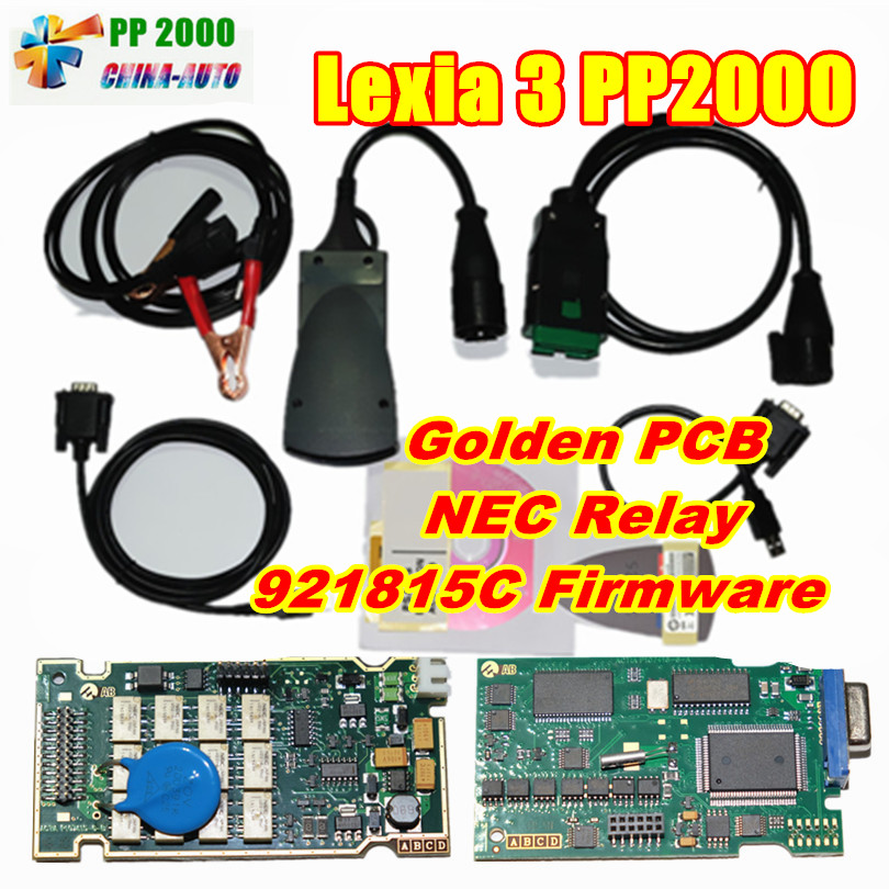 lexia3 PP2000 Diagnostic Tool with Diagbox V7 83 FW 921815C and Orignal Full Chip Full Function