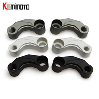 KEMiMOTO Motorcycle Mirror Riser For BMW R1200GS LC Adv Mirror Extension Brackets Adapter R1200 GS LC