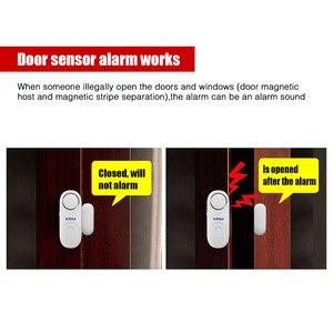 Image 4 - KERUI D1 אלחוטי קטן עצמאי דלת מגנטי עצמאי דלת/חלון חיישן אבטחת אזעקת הגנה מעורר