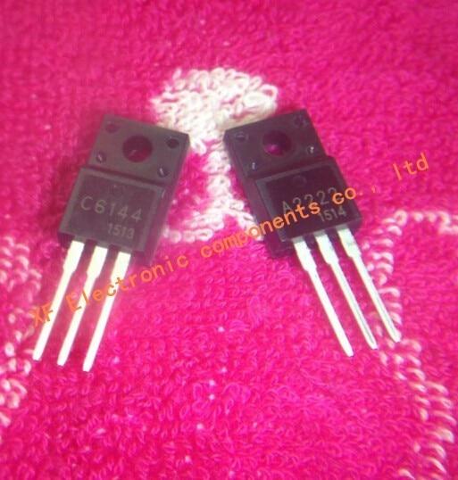 Free shipping 20pcs/lot 2SA2222 2SC6144 10pcs A2222 + 10pcs C6144 IC Best quality.