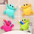 1 ШТ. Мультфильм Gecko Home Ванная Комната Для Зубных Щеток Настенное Крепление Присоски Стеллаж Для Хранения