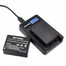 2PC 7.4V 1260mAh Li-ion NP-W126 NP W126 Battery+LCD Dual Charger for Fujifilm Fuji NP-W126 NPW126 BC-W126 BCW126 X-T10 XT10