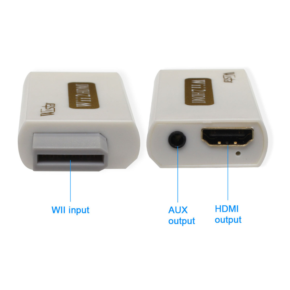 Wiistar Wii to HDMI Adapter Converter Support FullHD 720P 1080P 3.5mm Audio Wii2HDMI Adapter 80 channels hdmi to dvb t modulator hdmi extender over coaxial