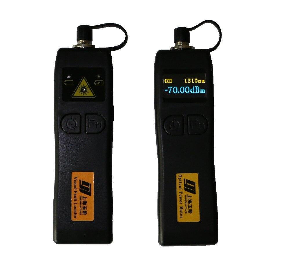 YJ320C -50~+26dBm Mini Handheld Optical Power Meter with YJ200P Fiber Optic Visual Fault Locator 10mwYJ320C -50~+26dBm Mini Handheld Optical Power Meter with YJ200P Fiber Optic Visual Fault Locator 10mw