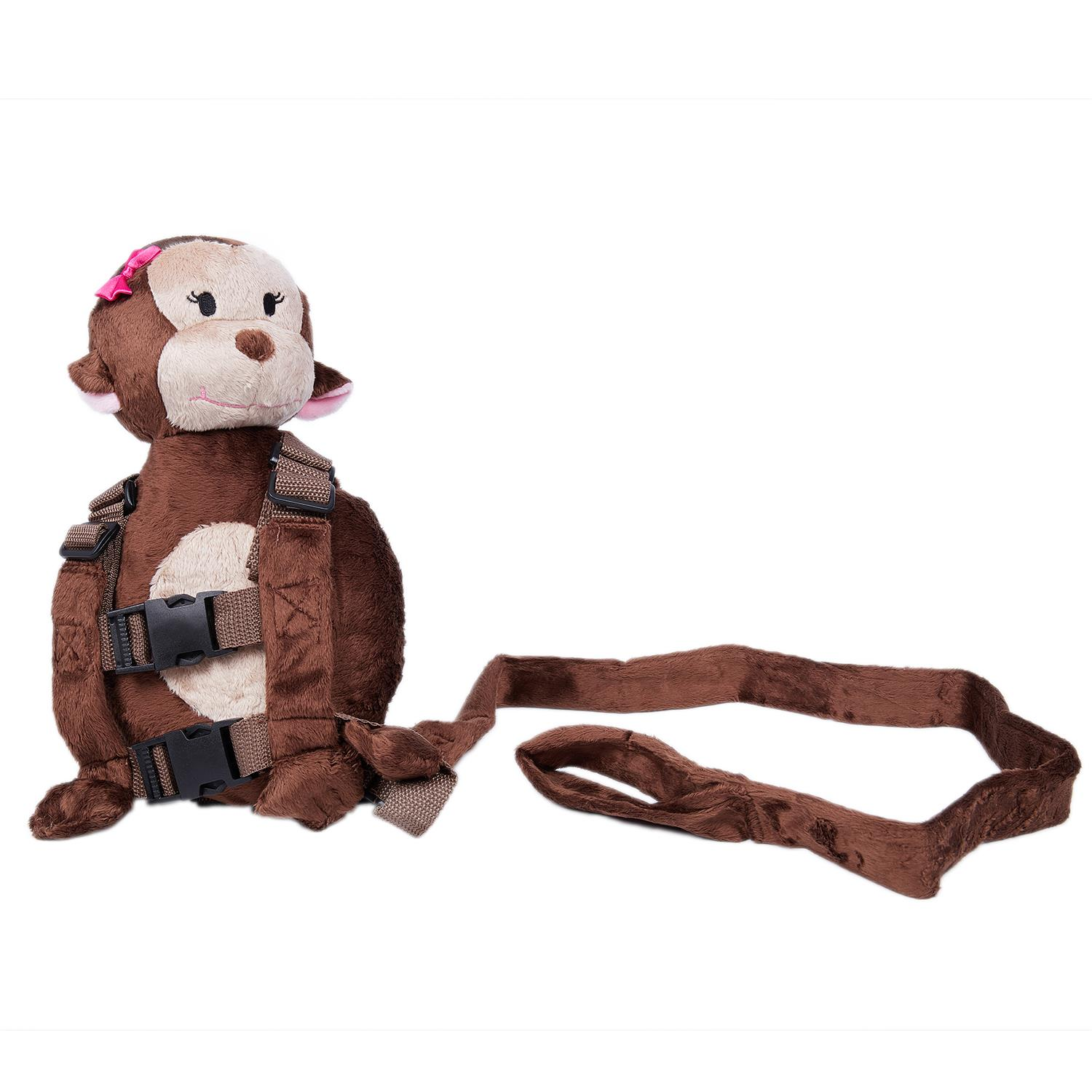 LCLL-Safety Harness Leash Strap Baby Kids Toddler Walking Cosplay Backpack Reins Bag, Monkey 3