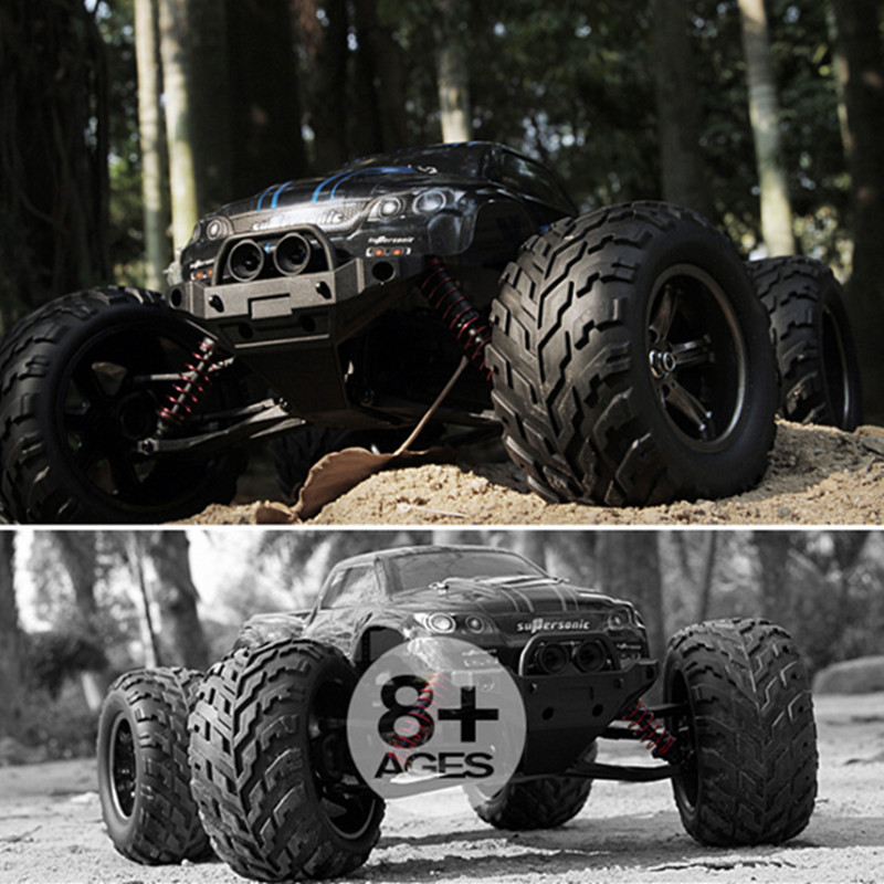 Hot Toys RC Cars 2.4G Big Foot Monster Off-road 50km/h High Speed Rock Climbing Off-road Remote Control Car Toy Vehicles