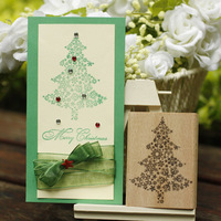 Christmas Stamp Tree 6 8cm Tinta Sellos Craft Wooden Rubber Stamps For Scrapbooking Carimbo Timbri Stempel