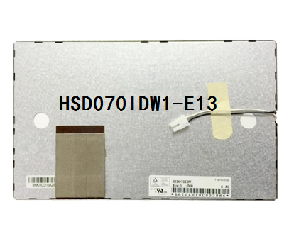 Original 7 Inch LCD Screen For Car Dvd Gps HSD070IDW1-E13 HSD070IDW1 60 Pin 800*480 165MM*100MM*5MM