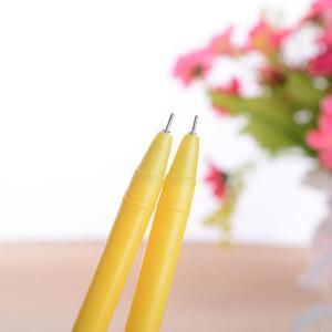 Image 5 - Jonvon satin stylo Gel canard créatif, 40 pièces, joli stylo Signature rouge pour étudiants, fournitures de bureau coréennes, vente en gros