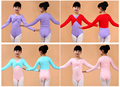 Autumn/Winter Girl Ballet Gymnastic Leotard Jacket  Long Sleeved Dance Sweater Top Coat Kids Dance Clothing Jacket Wrap Ballet