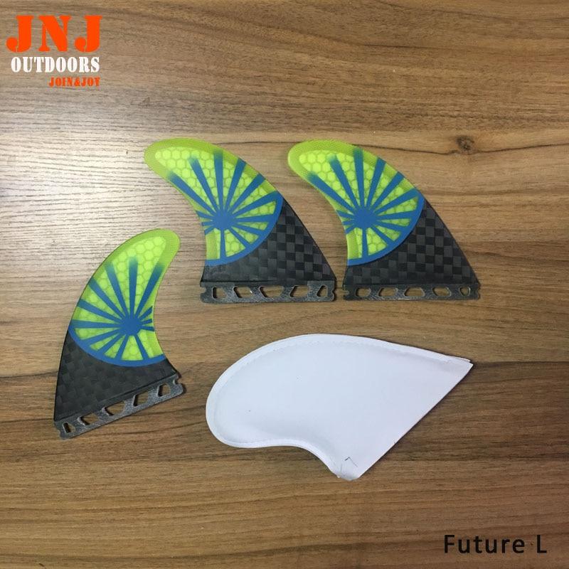 LIVRAISON GRATUITE en fiber de verre carbone avenir Tri-ensemble futures Grandes ailettes surf table fin avenir L 3 pcs un ensemble