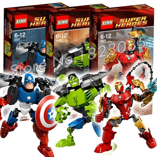 Hero Iron Factory Hulk Bela Le Captain America Ultrabuild Comics Dc lcK1JF