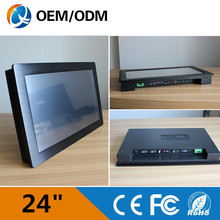 24 » industrial touch screen Resolution1920x1080 pc embedded computer /Capacitive touch/ I3 CPU 2GB RAM 500G HDD