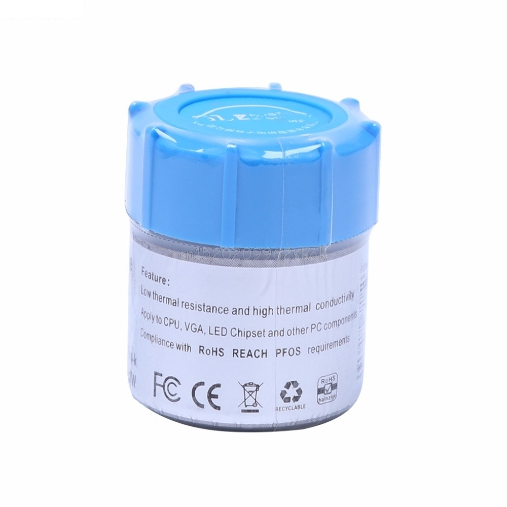 10g HY710-CN10 Thermal Grease CPU Chipset Cooling Compound Silicone Paste 3.17W #H029# 1pcs cpu gpu thermal silicone grease compound glue stars 922 new