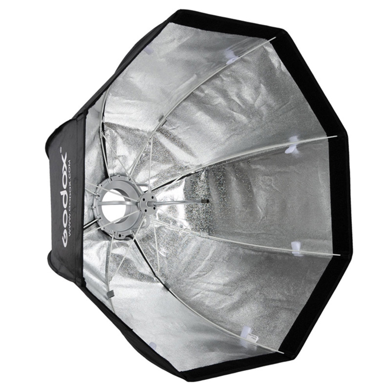 Godox SB-UE Octagonal Umbrella Softbox 80cm Portable for Speedlite Flash with for Bowens Mount