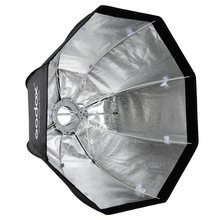 Godox SB-UE Octagonal Umbrella Softbox 80cm Portable for Speedlite Flash with for Bowens Mount(China)