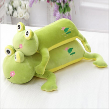 New Style Cartoon Lovely Frog Short Plush Toy Stuffed Animal Plush Doll Toys Gift Send to Children стоимость