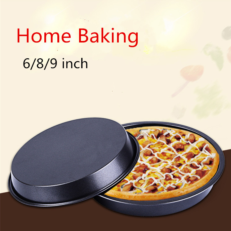 6 8 9 Inch Pizza Oven Baking Mold Plate Round Pizza Tools Cakes Pasta Large Oven