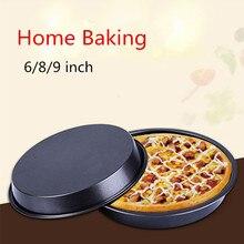 6/8/9 Pulgadas de Pizza de la Hornada Del Horno placa de Pizza Redonda Herramientas Pastas dulces Grandes Herramientas Para Hornear Horno # WL099