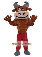 Мышцы Bull Mascot Костюм взрослых Bull костюмы