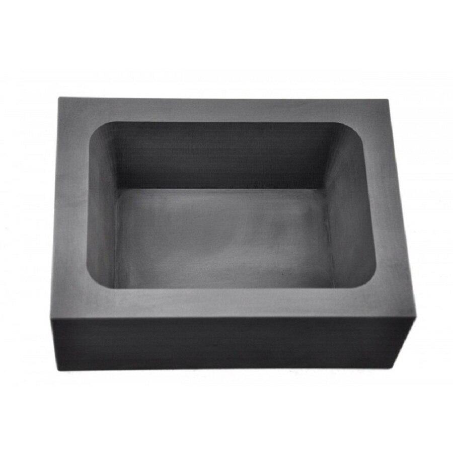 Graphite Ingot Mold   for  100oz Silver bar melting   / carbon graphite molds for silver ingot molds ,FREE SHIPPING 500x600x3mm flexible graphite paper flexible graphite coil ultra thin graphite paper