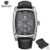 BENYAR Brand Luxury Business Men's Watch Date 30m Waterproof Clock Male Casual Quartz Watches Men Wrist Fashion Sport Watches