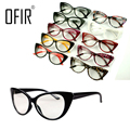 OFIR Cat Eye Glasses Frame Fashion Plain Mirror Decoration Spectacles Women Sexy Retro GlassesEyewear Accessories Optics Frames