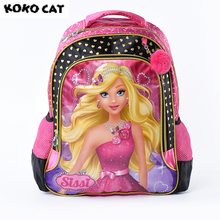 Здесь можно купить  2017 Cartoon Kids Children School Backpack Beauty Girls Bags Girls Bookbag  School Backpacks for Teens Girls Student Schoolbag  Backpacks