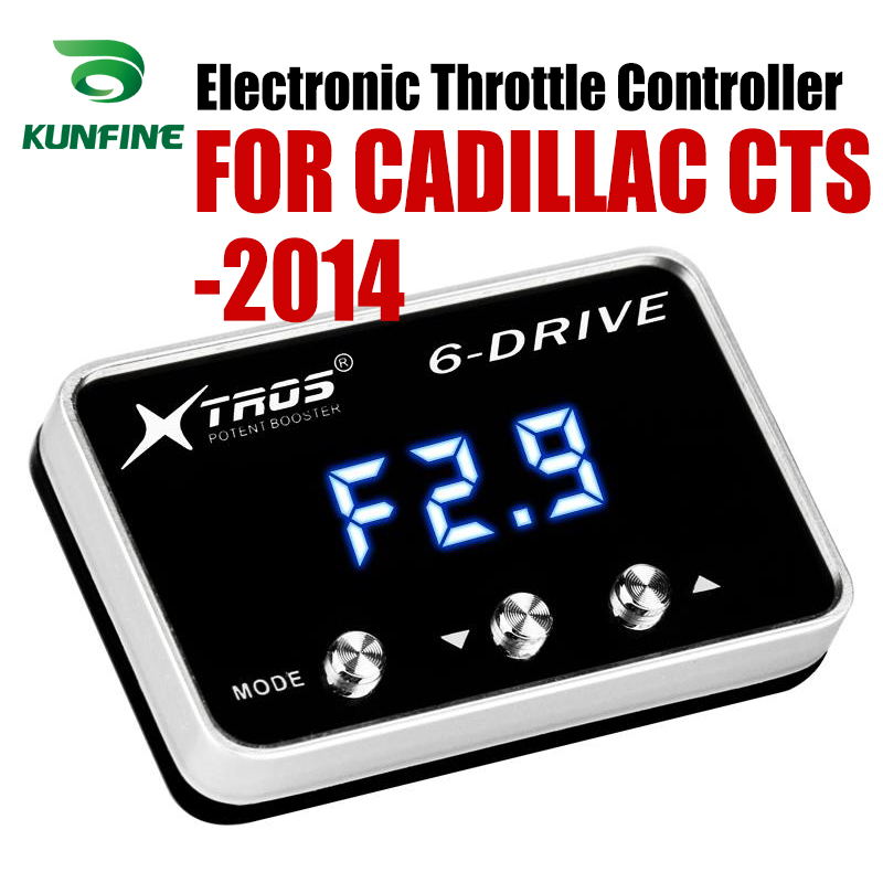 Car Electronic Throttle Controller Racing Accelerator Potent Booster For CADILLAC CTS 2014 Forwards Tuning Parts AccessoryCar Electronic Throttle Controller Racing Accelerator Potent Booster For CADILLAC CTS 2014 Forwards Tuning Parts Accessory