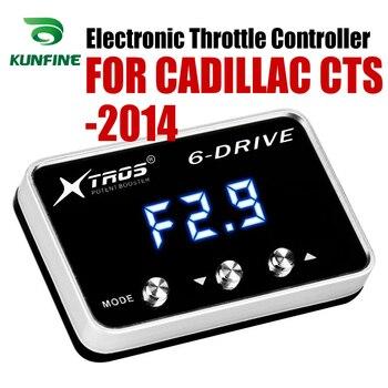 Potente Reforço Acelerador Acelerador Eletrônico velocidade do carro Controlador de Corrida Para CADILLAC CTS 2014 Atacantes Sintonia Peças Acessório