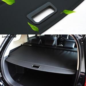 Image 3 - Pour Mitsubishi Outlander 2018 2019 2020 couverture rideau coffre cloison rideau cloison arrière supports voiture style accessoires