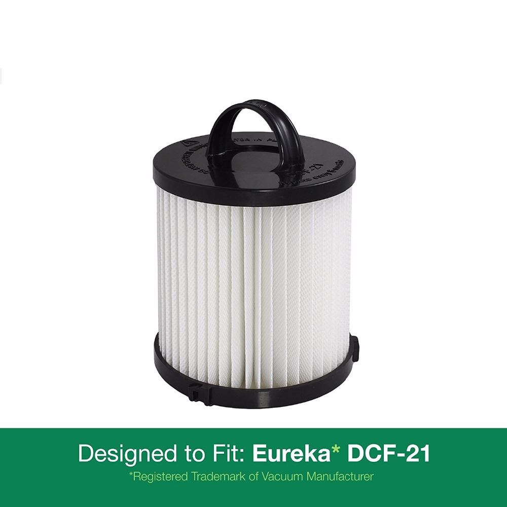 Filters fit For Eureka DCF-21 Series Part 67821, 68931, 68931A, EF91 Fits Eureka Upright and Sanitaire Air Speed Bagless Models eureka короткое платье