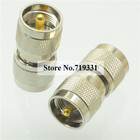 2pcs Adapter PL259 UHF plug male to PL-259 male RF connector straight