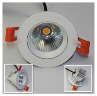 White Style16pcs Lot COB Led Downlight 12W Dimmable Recessed Down Light Ceiling Bedroom Led Lamp
