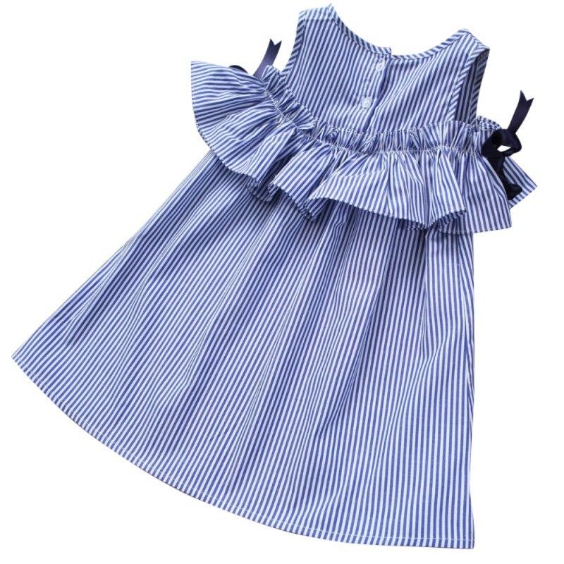 New Hot Summer Sleeveless Beach Sundress Party font b Dress b font girls outfits High Quality