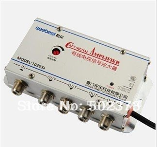 4 way Cable TV Signal Amplifier Splitter CATV signal amplifier