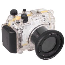 40m 130ft Waterproof Underwater Housing Case Cover Bag For Sony DSC-RX100 + Hand strap + Arm strap + O-ring
