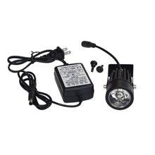 110 v-240 v стереомикроскоп дополнительная подсветка Топ потолочный светильник светодиодный источник света устройства для микроскопа