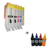 PGI 450 CLI 451 PGI-450 CLI-451 Refillable Ink Cartridge for Canon iP7140 iP7240 MG5440 MG5540 MG6440 MX924 iX6840 MG6340 iP8740